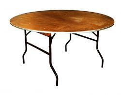 Bankettafel diameter 153cm